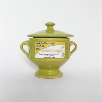 Masážní svíčka - orientální směs bylin 200g