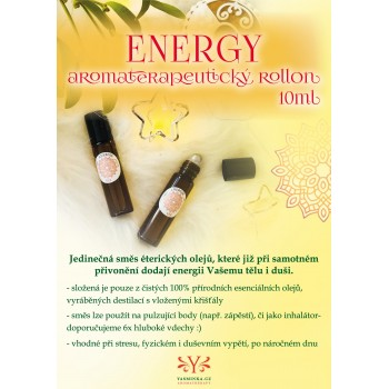 ENERGY aromaterapeutický roll on 10ml