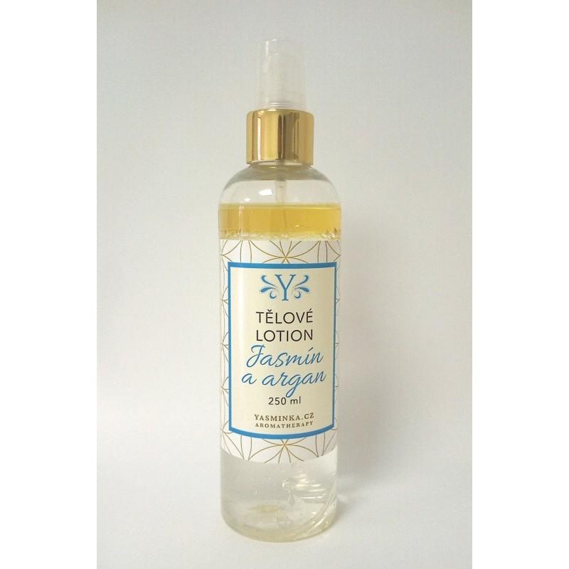 Tělové vodoolejové lotion jasmín s arganem 220 ml