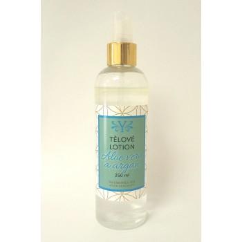 Tělové vodoolejové lotion s aloe vera s arganem 220 ml
