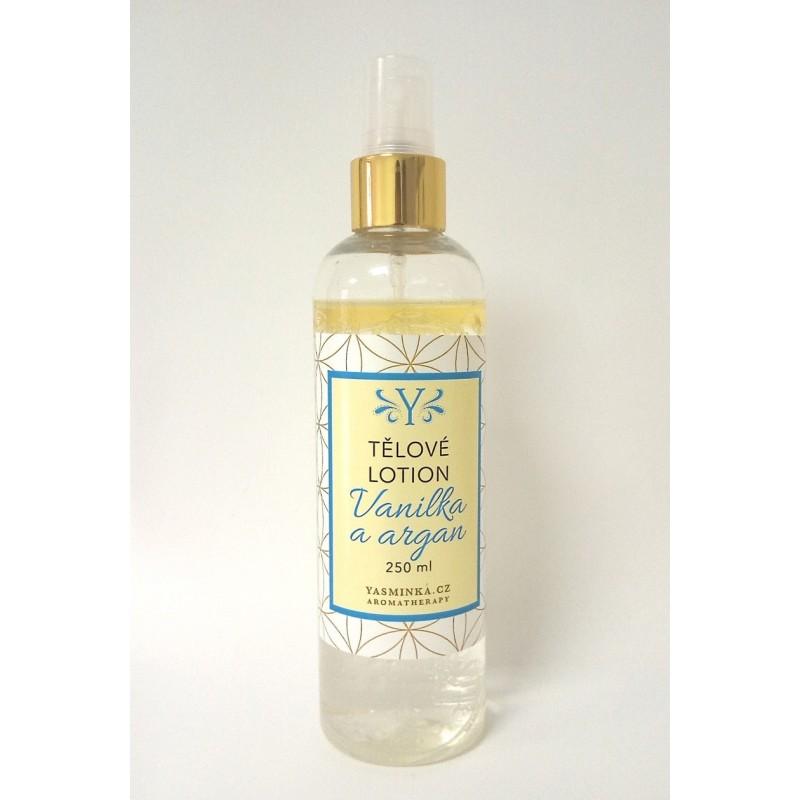Tělové vodoolejové lotion vanilka s arganem 220 ml