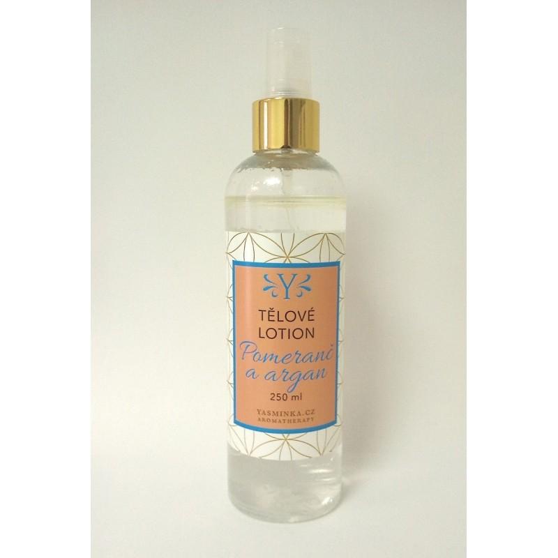 Tělové vodoolejové lotion sladký pomeranč s arganem 220 ml