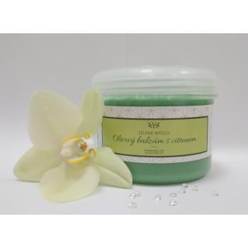 Olivový balzám - tělové a pleťové zelené mýdlo 300 g