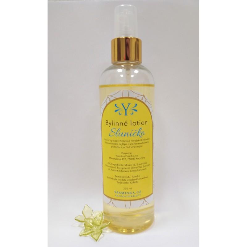 Sluníčko - bylinné lotion, 250 ml /vhodné i při opalování/
