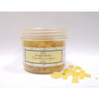 Koupelová sůl vanilka s arganem, 350 g