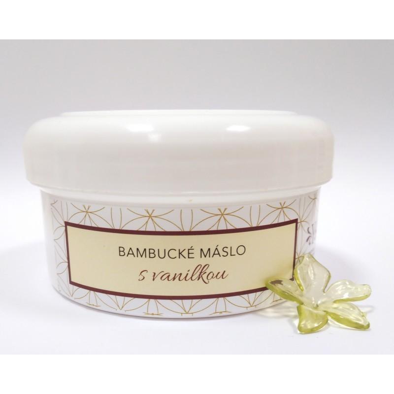 Bambucké máslo s vanilkou 200g