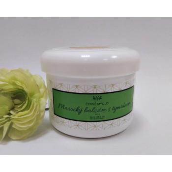 Černé mýdlo - marocký balzám s tymiánem, 300 g