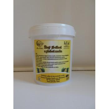 Žlutý jíl - protivrásková pleťová maska 1 kg