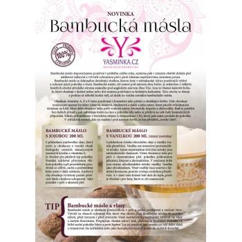Bambucké máslo s levandulí 200g