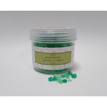 Thyme bath salt with argan,...
