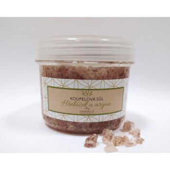 Clove bath salt with argan,...