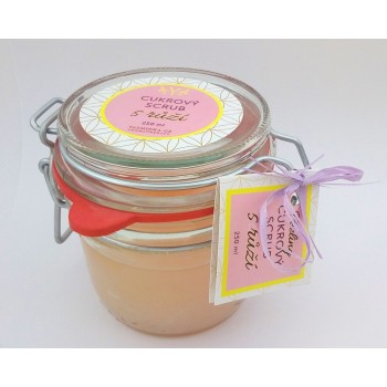 Sugar scrub with Rose, 220 g