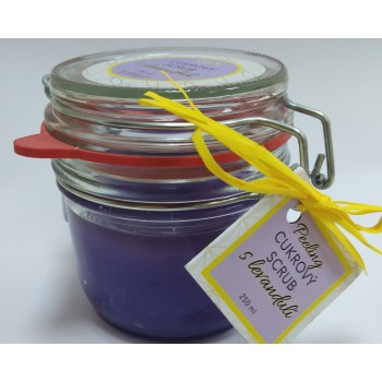 Sugar scrub with Lavender,...