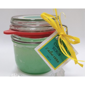 Sugar scrub with Aloe vera,...