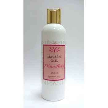 Almond body oil and massage...