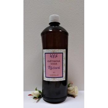 Růžová květinová voda 1 litr