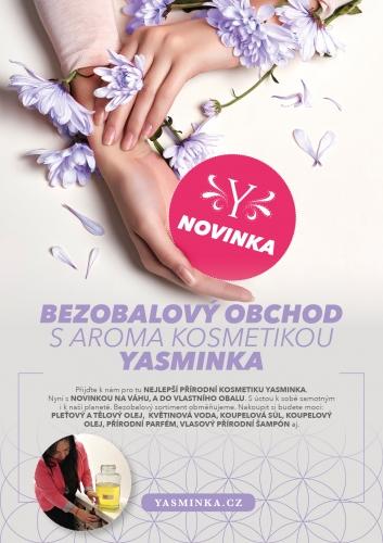 Bezobalový obchod s aroma kosmetikou Yasminka